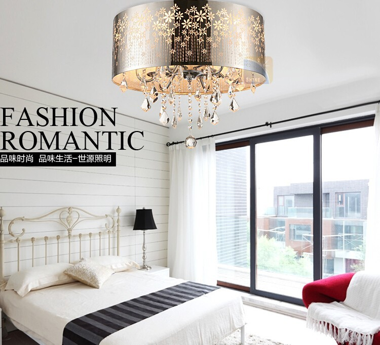 ceiling crystal lamp-5