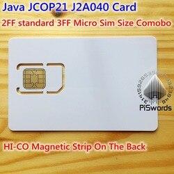 Java jcop21 J2A040 40 k EEPROM mise à jour pour remplacer JCOP 21 36 K avec hi-co Magnétique Basée Sur Java IC Connecter Carte À Puce avec SAVOIRS TRADITIONNELS Valeur