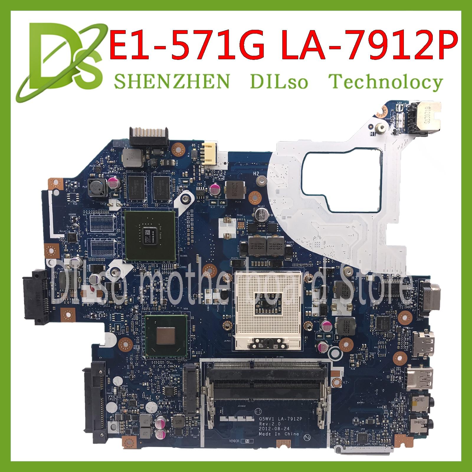KEFU LA-7912P motherboard fit for ACER Aspire E1-571G E1-571 V3-571G V3-571 motherboard Q5WV1 LA-7912P  HM77 PGA989 TestKEFU LA-7912P motherboard fit for ACER Aspire E1-571G E1-571 V3-571G V3-571 motherboard Q5WV1 LA-7912P  HM77 PGA989 Test