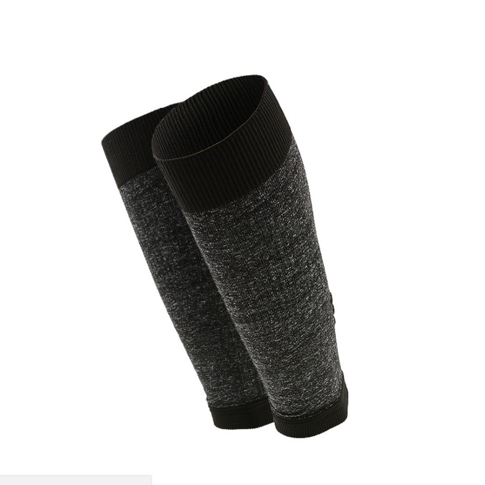 1 Pair Stabilize Muscles Energy Compression Calf Sleeve Breathable Wicking Sweat Leg Compression Socks Leg Warmer