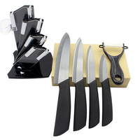 Home Kitchen Dining Bar Ceramic Knife And Accessories Set Paring Fruit Utility Chef 3 4 5