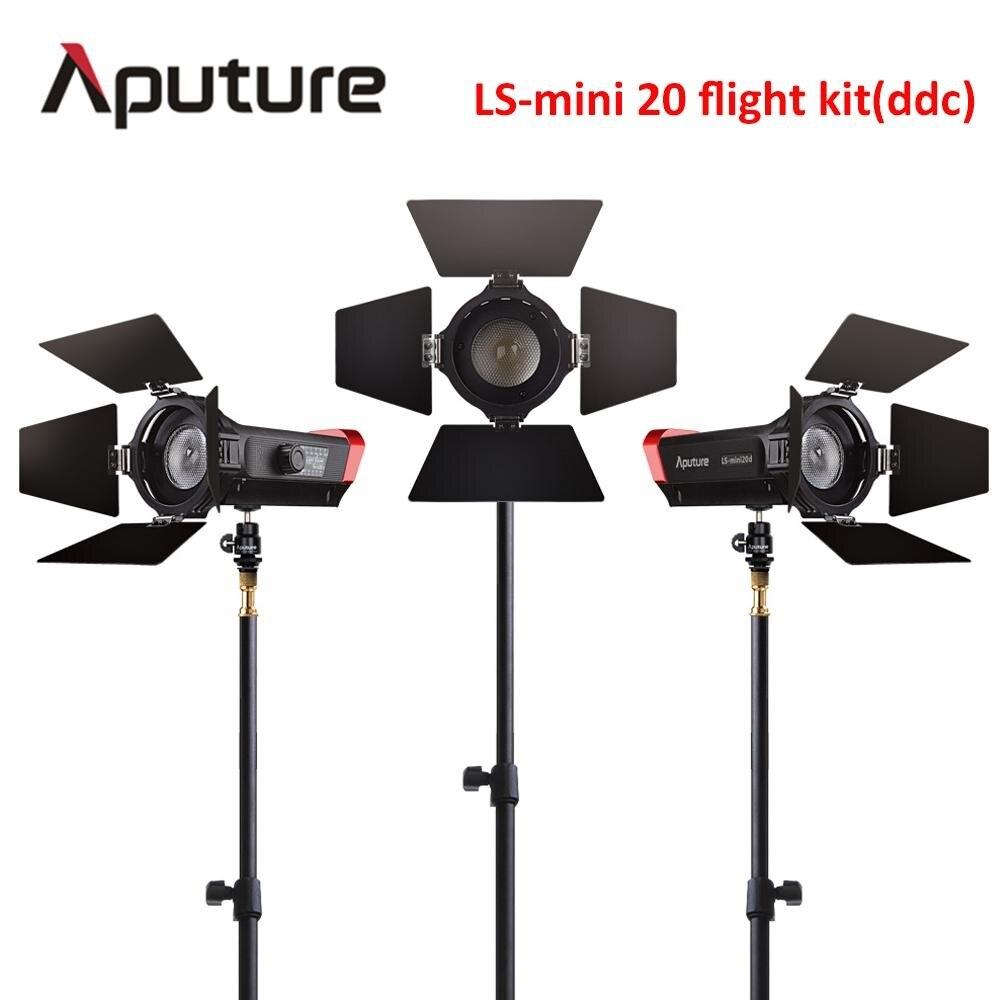 Aputure CRI 97 LS Mini20 flight kit ddc fresnel cob led light photography led light film