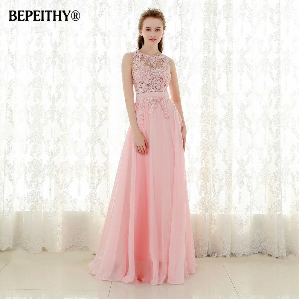 New Arrival Lace Top Long   Prom     Dresses   Vestido De Festa Longo Floor Length Chiffon Evening   Dress   Party 2015 Fast Shipping Hot