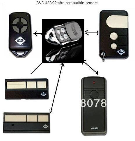 Classic case BND / CHAMBERLAIN /easylift  Garage Roller Door Remote Control Opener - BND 433Mhz