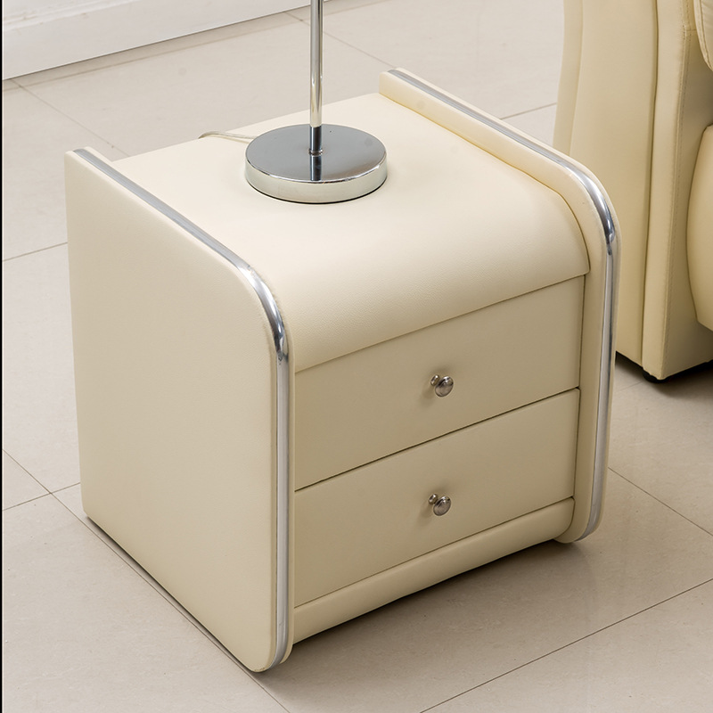 modern bedroom leather soft bed Side End Tables Bedroom Night Stand BS 001. Side Table For Bed   Home Design