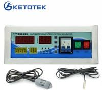 Intelligent Incubator Controller Digital Thermostat Hygrostat Temperature Humidity Controller for Egg Incubator