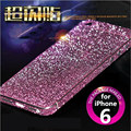 10 Color for Apple iPhone 6 6S 6s Plus Dull Polish Rhinestone Diamond Shining Bling Full Body Skin Sticke Front Back Cover Film
