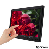 10.1 Inch 1280*800 IPS HDMI Capacitive Touch Screen LED Monitor Industrial VGA/AV USB Computer LED PC Car Display laptop screen