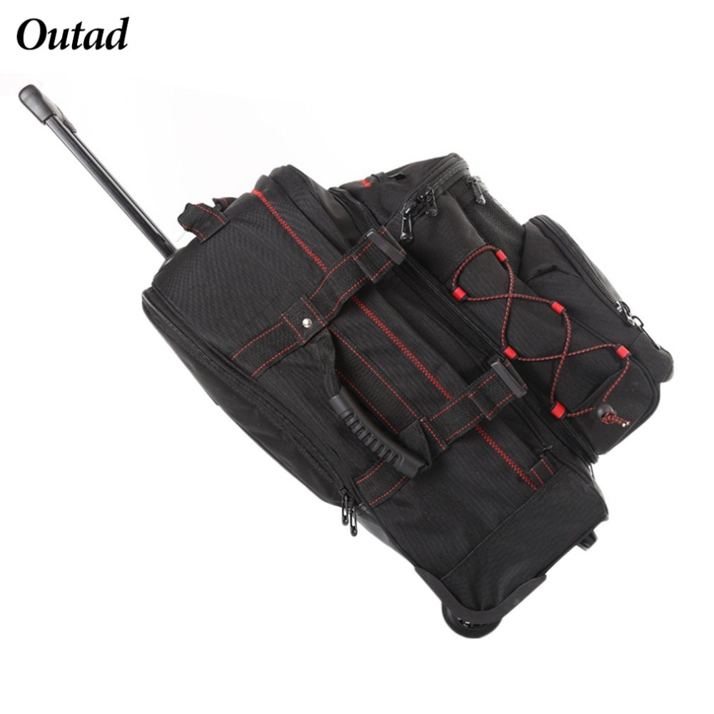 Two in One Women Men 20inch Large Capacity Backpack Luggage Suitcase Wheels Trolley Bag With Handlebar For Traveling