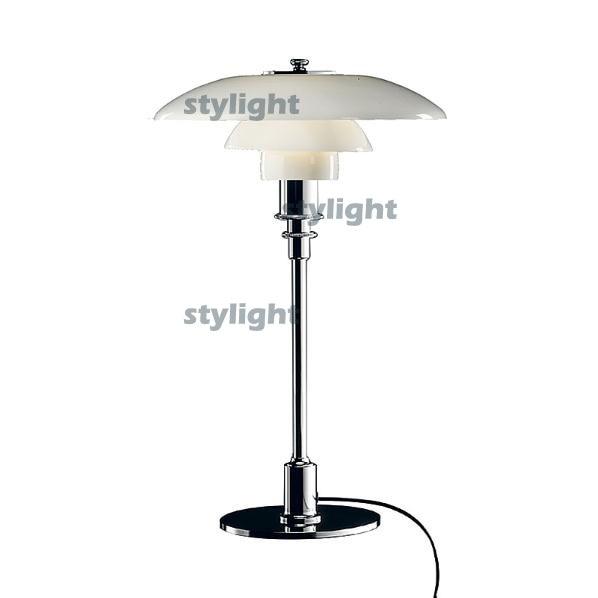 PH 3/2 Glass Table Lamp desk lighting Denmark Modern light Poul Henningsen table Light free shipping все цены