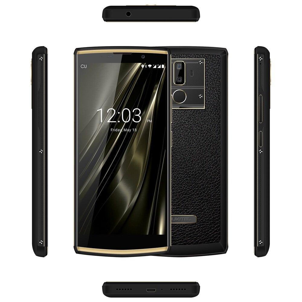 OUKITEL K7 Smartphone 6.0 pouce FHD + 10000 mah Android 8.1 4g MTK6750T Octa Core Avant 5.0MP Et Arrière 13.0MP Et 2.0MP Caméras GPS