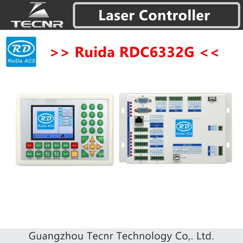 RUIDA RDC6332G 6332M Laser Control System DSP controller for co2 laser cutting machine co2 laser cut machine ruida rd320a laser controller system new version co2 laser cutting controller ruida controller 320