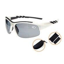 TH6226PGSG Eyekepper TR90 Unbreakable Sports Polycarbonate Polarized Bifocal Half Rimless Sunglasses +1.50/+2.0/+2.5
