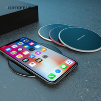 Protefeuille Qi Wireless Charger For Samsung Galaxy S8 S9 S10 Plus S7 S6 Edge Note 9 8 Huawei P30 Pro Mate 20 Chargeur Induction