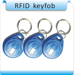 Frete grátis 100 pcs Copiar Cartões Regraváveis 125 Khz EM4305 Rfid Tag Tag Keyfobs Tag Gravação Para RFID copiadora