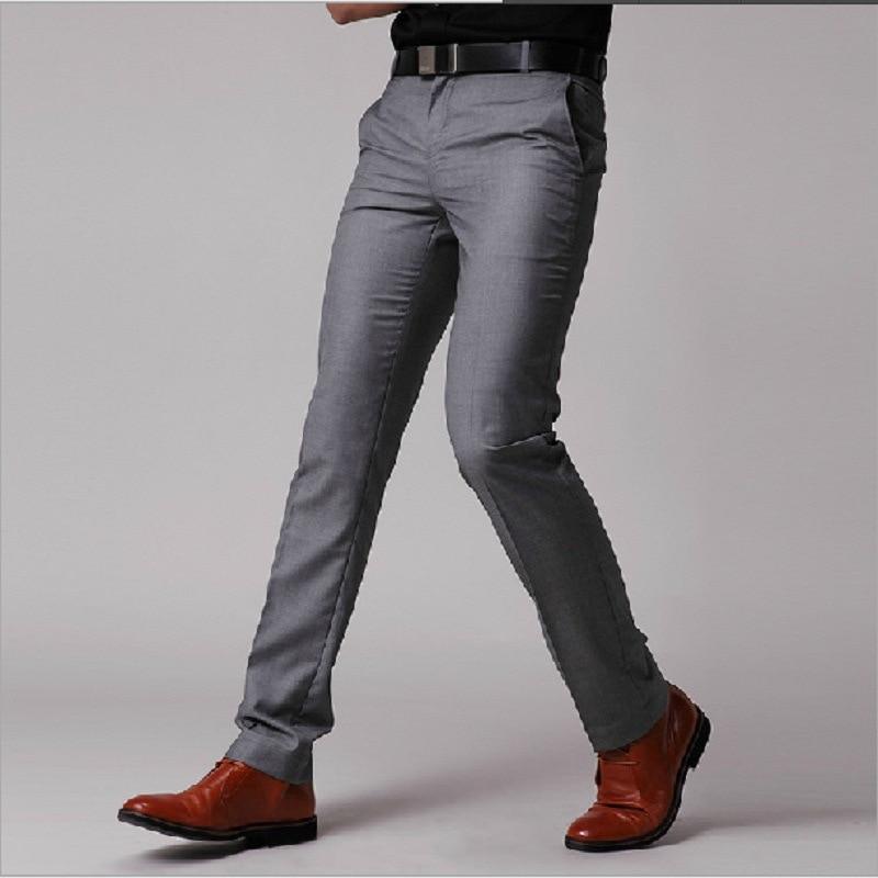 Aliexpress.com : Buy Formal Man Trouser Casual Men's Pant Korean ...