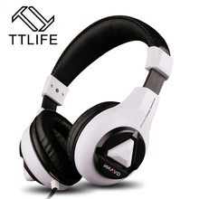 2016 TTLIFE Audio Esport Gaming Stereo Strong Bass Headset Headphone Earphone 3.5mm Wired with Microphone for PC Computer Laptop
