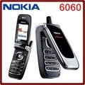 Nokia 6060 Оригинальный Разблокирована Nokia 6060 mobile телефон Классический Двухдиапазонный JAVA GSM Сотовый Телефон Дешево Высокое качество Бесплатная доставка