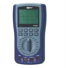 EONE ET201 ручной осциллограф мультиметр 2-В-1 универсальный интеллектуальный мультиметр
