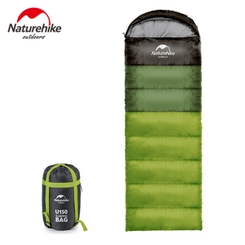 Naturehike Ultralight Warm Weather Sleeping Bags Apring Autumn Backpacking Camping Adult Sleeping Bag Large Cotton Sleeping