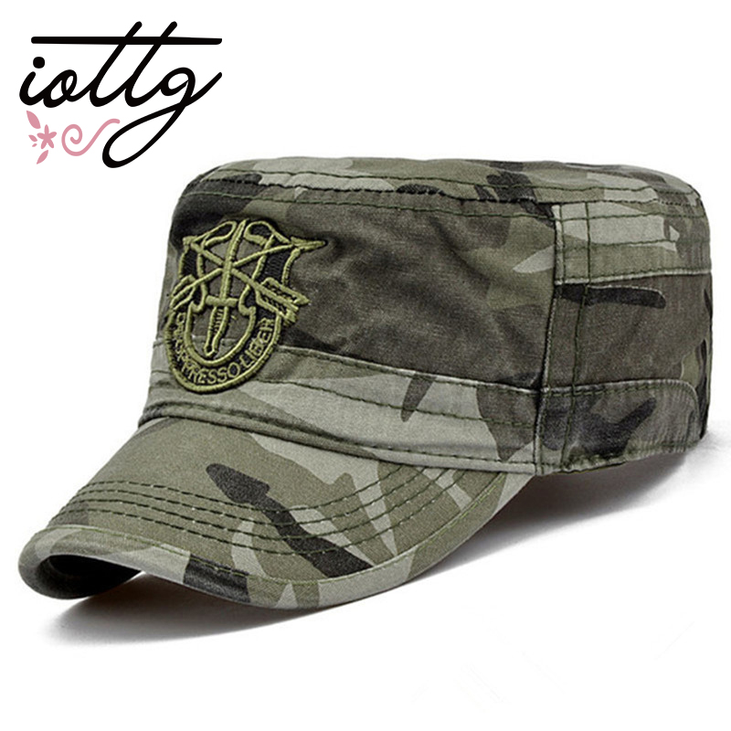 IOTTG 2017 Camouflage Classic Service Army Backpack Hat Marine Corps Camouflage Baseball Cap Sun Hat Patrol Casquette Flat Hat econscious organic cotton twill corps hat ec7010