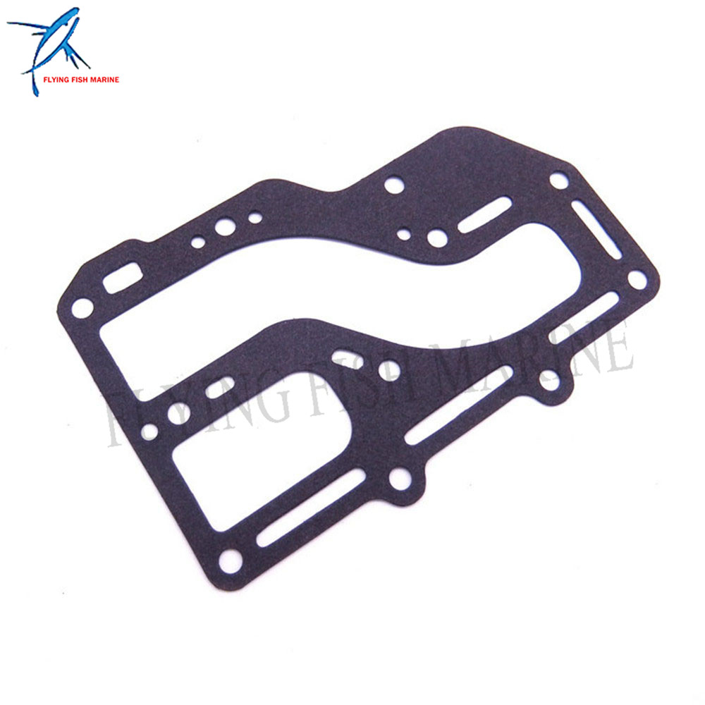 Exhaust Cover Gasket 350-02306-2 for Tohatsu Nissan Outboard NS M 9.9 15HP 18HP