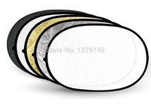Photographic Accessories Godox 5 in 1 background board Collapsible 60*90cm Lighting Diffuser Round Reflector Disc