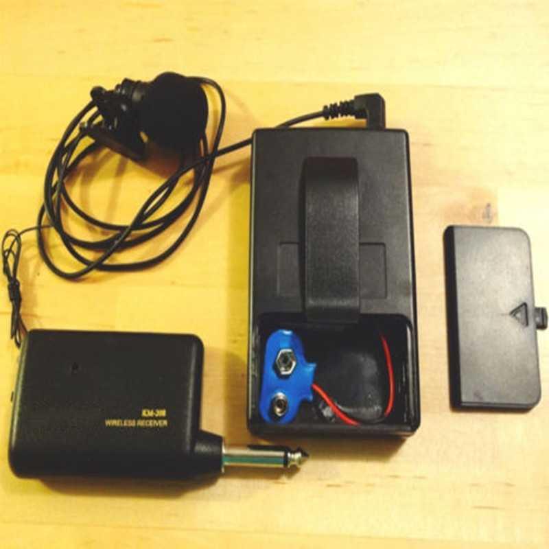 Profesional Remote Sistem Mikrofon Nirkabel Headset Lavalier Laple MIC Receiver Transmitter Radio Megaphone Klip Loudspeaker