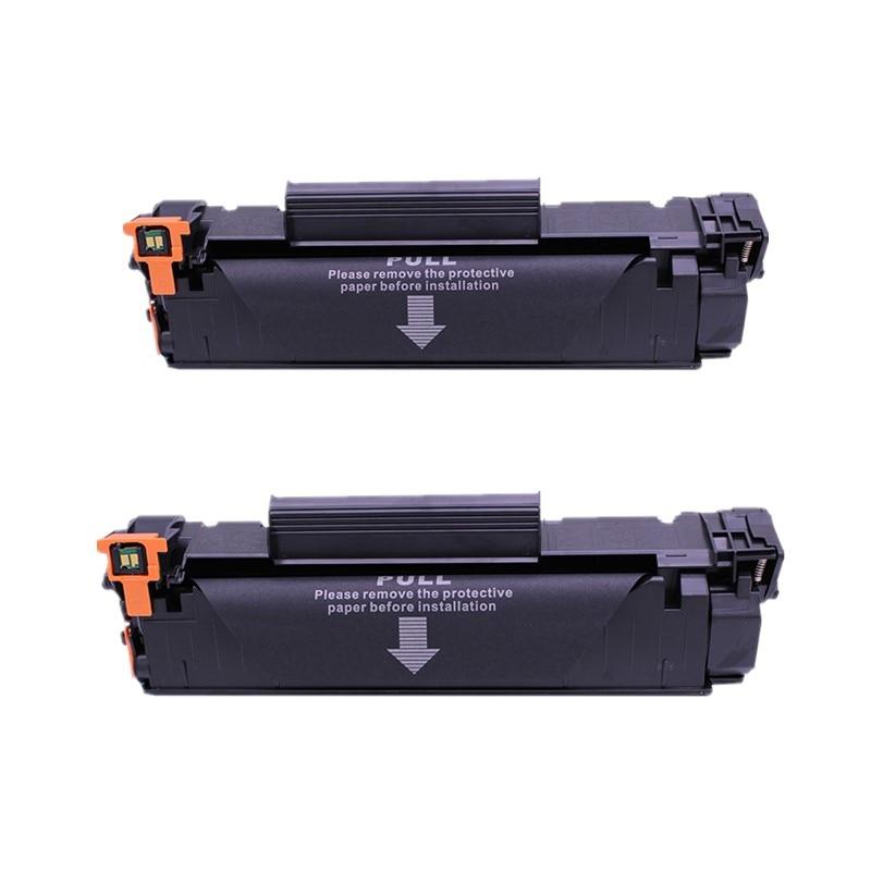 2 Pack CF248A 48A Bk Toner Cartridge For HP LaserJet Pro M15w M15a M28a M28w MFP