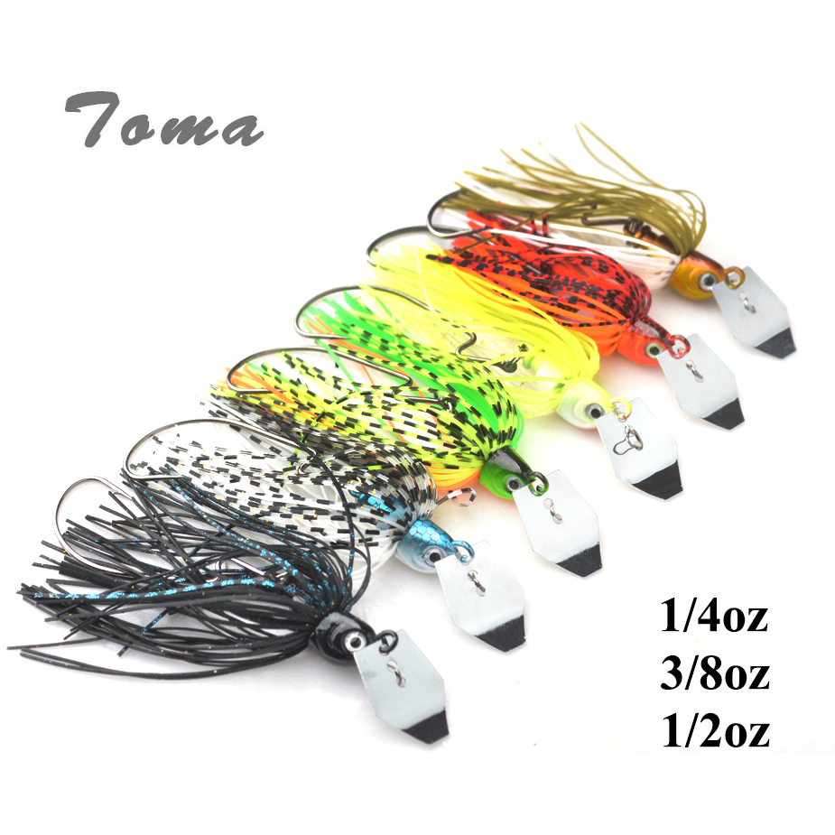 TOMA 3PCS/lot Cheater Swimbaits Spinner Fishing Lures 7g 10g 14g Finesse Chatter Spinnerbait Metal Lure Fishing Bass Bait 10pcs 21g 14g 10g 7g 5g metal fishing lure fishing spoon silver and gold colors free shipping