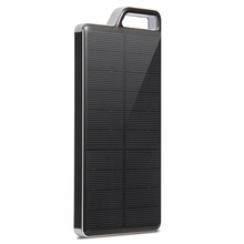 PowerGreen LEDs Design External Battery Pack Charger 10000mAh Solar Panel Power Bank for Samsung Phones