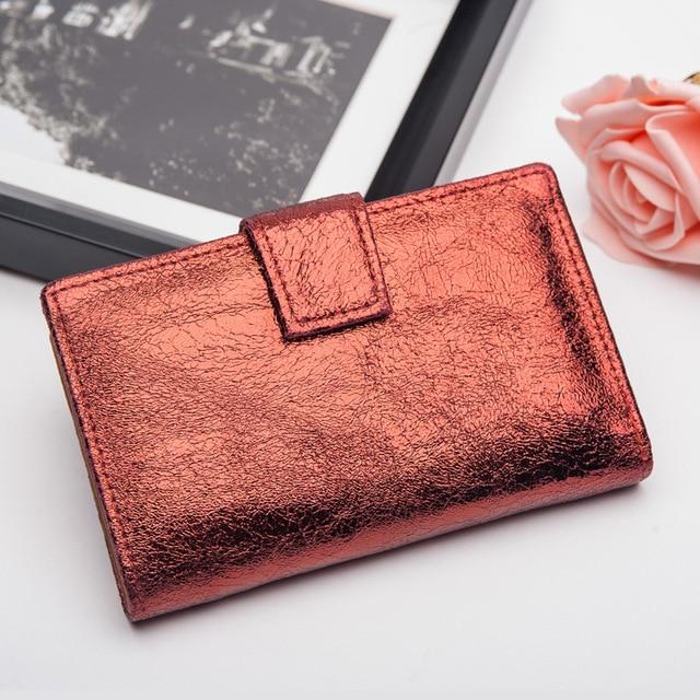 Andralyn яркий из натуральной кожи Для женщин кошельки ретро Cluthes кошелек женский монет, кредитных держатель для карт кошелек