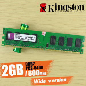 Kingston DDR2 Desktop-Memory 800mhz PC2-6400 240-Pin-Kvr800d2n6/2g Wide-Version Wide-Version
