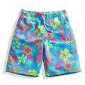 Parejas balneario spa de secado rápido pantalones de playa Verano de los hombres flojos de luna de miel 1/2 pantalones troncos 3xl 4xl 5xl