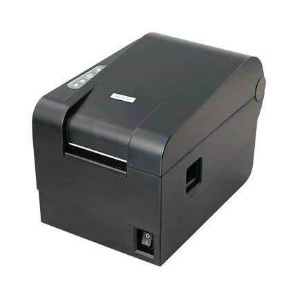 2016 первоначально высокое качество 235B одежда тег 58 мм Термальный принтер штрих-кода наклейка принтер qr-код невысыхающая принтер этикеток