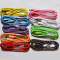 Free Shipping Multi-colors 3ft/1M Durable Braided Micro USB Cable Coiled Charger Data Sync Cable Cord For Android Phone