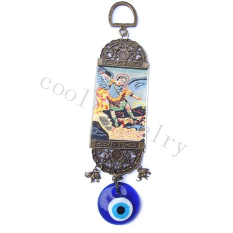 Nástěnné koberce Ježíš Turecko Zlé oko Amulet Domácí dekorace Ornament Ručně vyráběné Murano sklo Charm Hodně štěstí