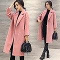 Дизайнер женские зимние пальто abrigos mujer зима 2016 пальто зимнее пальто женщин манто femme hiver casaco feminino длинное пальто