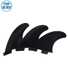 3pcs/5pcs Surfing surf FCS2 Performer 5set/lot Black Fin Tri-quad fin set Plastic fins