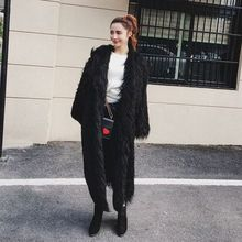 New Style High-end Fashion Women Faux Fur Coat 17S27