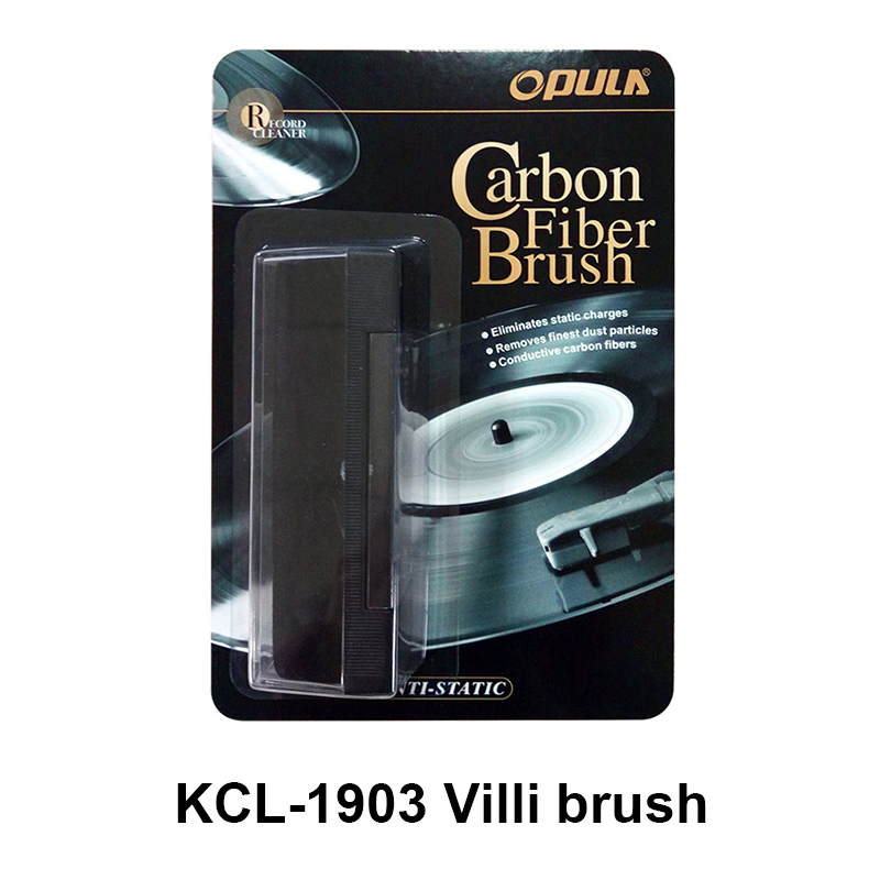 LEORY Turntables Villi Brush OR DuPont Brush Vinyl Records Cleaning Kits For LP Phonograph Turntable Cleaning Kit Longplay