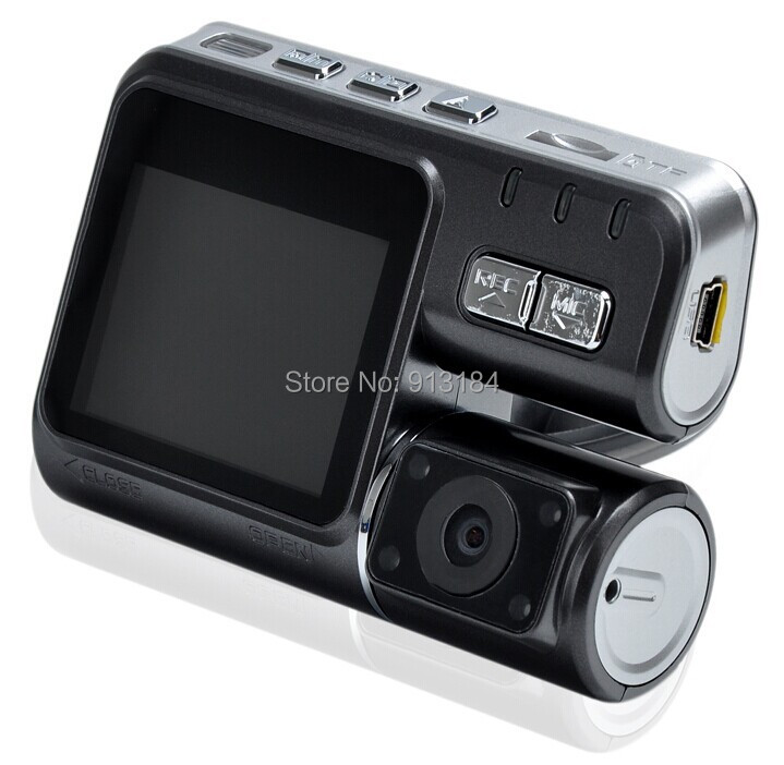 I1000 Car DVR Dual Lens Camcorder HD 1080P Dash Cam Rear View Camera Car Black Box DVR Dual Camera Allwinner Car DVR-in DVR/Dash Camera from Automobiles & Motorcycles    3