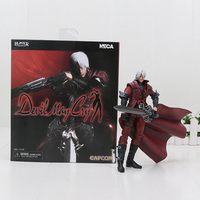 18cm Devil May Cry Dante movable model toys PVC Action Figure Collectible model Toy with box for gift