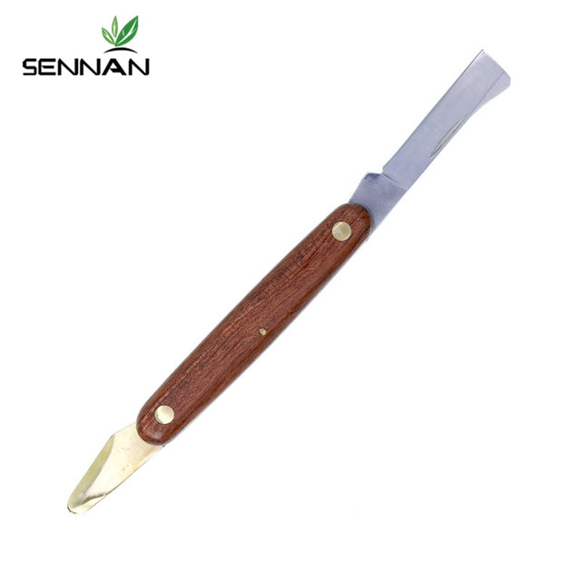 Sennan jardim dobrável enxertia faca de poda mudas cortador de árvore tesoura ferramenta de corte