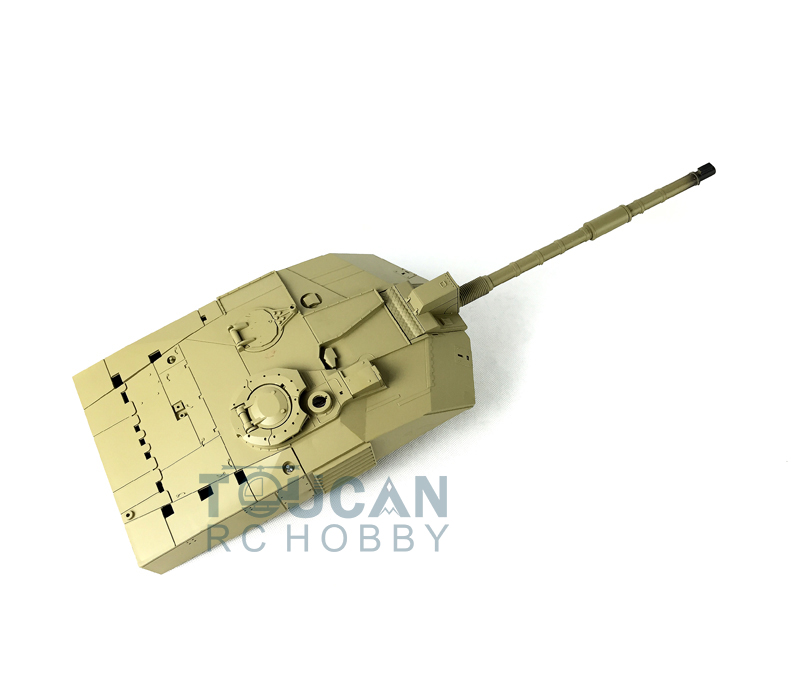 Refitted HengLong 1/16 Plastic Turret BB Shoot 360 Degree Challenger II Tank 3908 стоимость