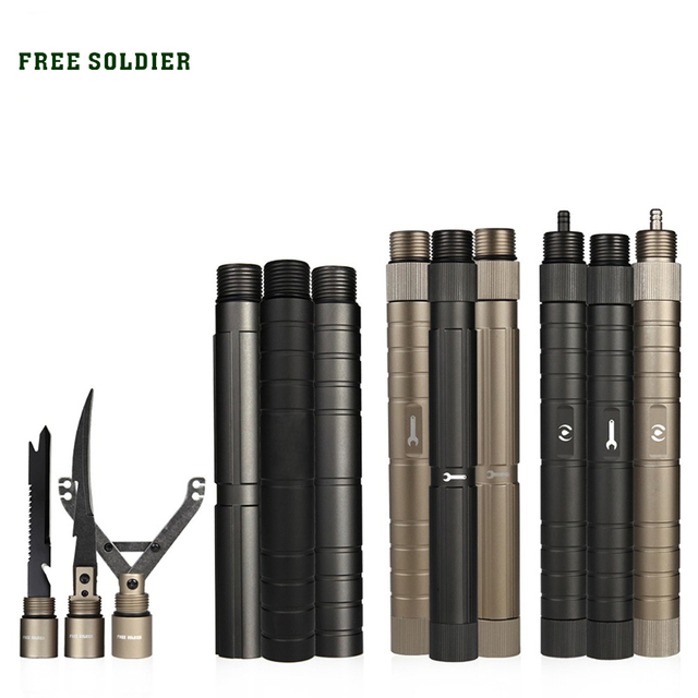 FREE SOLDIER Outdoor sports camping hiking central component series multi-function folding shovel DIY Accessories