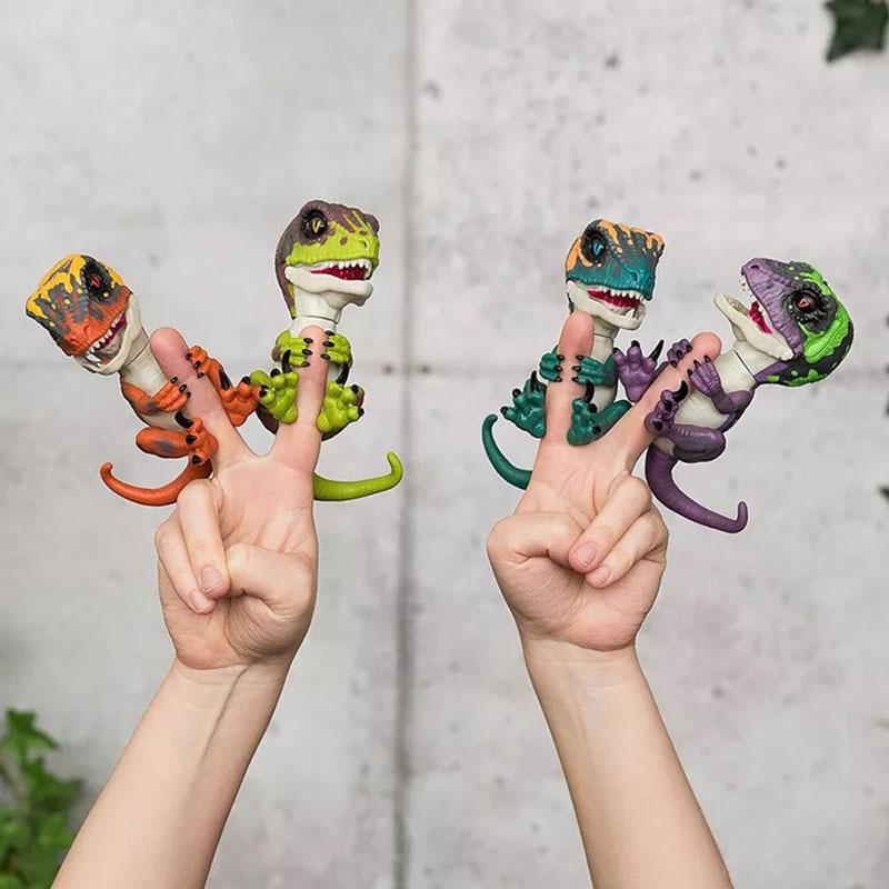 Interactive Dinosaur Electronic FingerPet