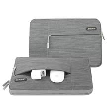 MOSISO אפור מחשב נייד שרוול מקרה עבור Macbook Air 11 13 Pro רשתית 13 15 אינץ עבור Lenovo/Dell/acer/HP/Xiaomi מחברת מחשב שקיות