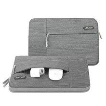 حافظة كمبيوتر محمول باللون الرمادي من MOSISO لهواتف Macbook Air 11 13 Pro ريتينا 13 15 بوصة لهواتف Lenovo/Dell/Acer/HP/شاومي