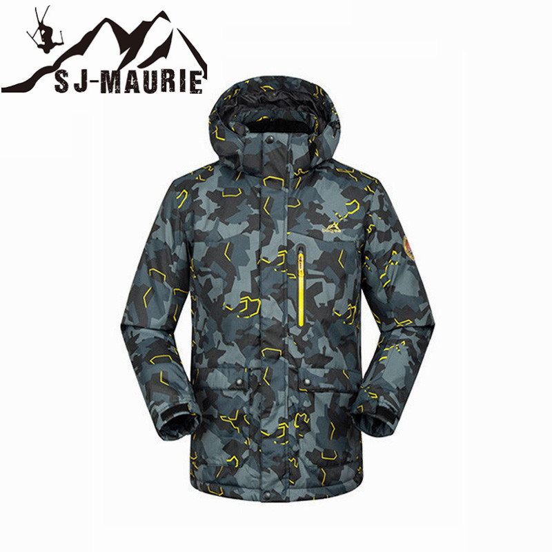 2018 Men Snowboard Jacket Waterproof Windproof Thermal Winter Clothing Outdoor Sport Super Warm